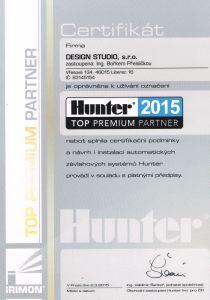 certifikát Hunter